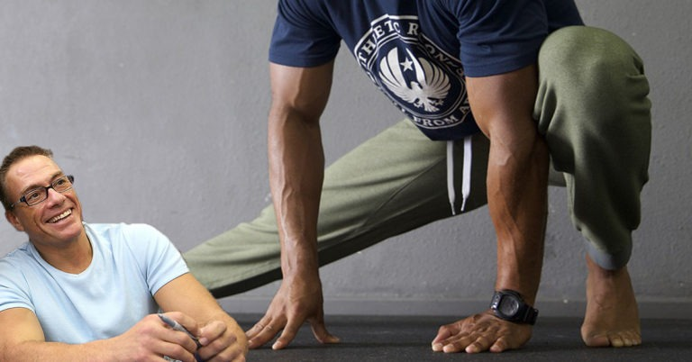 The Van Damme Warm-Up You Must Do for an Injury-Free Workout