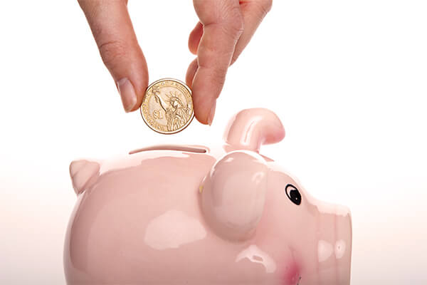 Your own piggy bank always shows how good you are at installing money-saving habits.