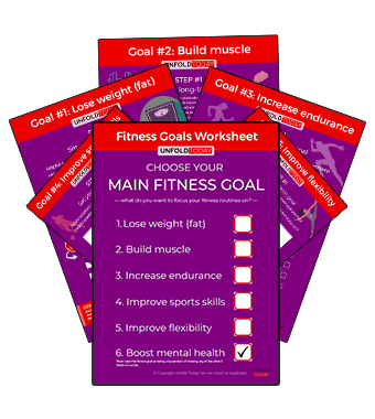 Fitness Goals Worksheet
