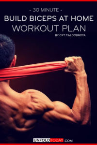 30 Minute Biceps Workout Plan by CPT Tim Dobrota