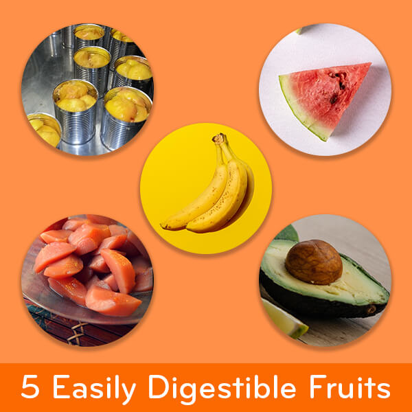 Foods easy on the stomach: 5 easily digestible fruits: