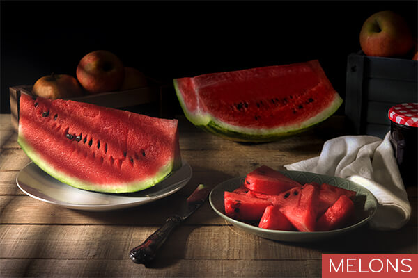 Easy to digest foods for your stomach: watermelon
