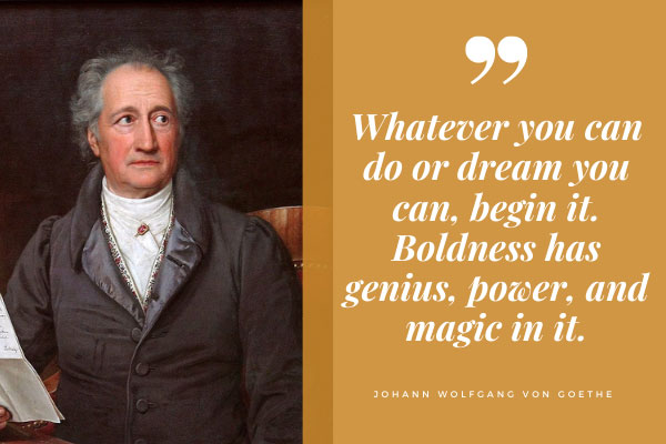 All-time IQ high-score holder Johann Goethe's genius quote