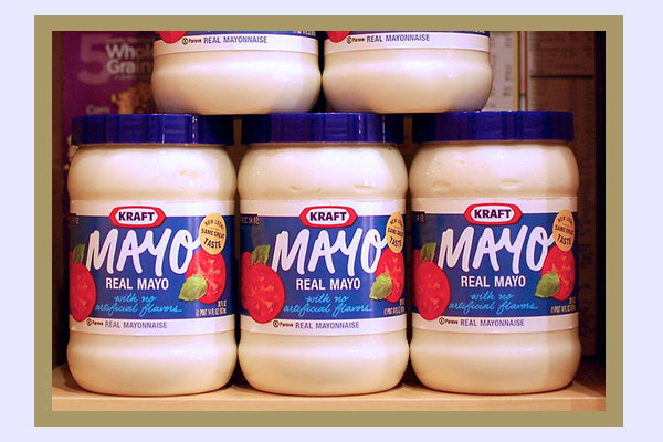 Kraft mayonnaise - low-calorie foods for easy weight loss