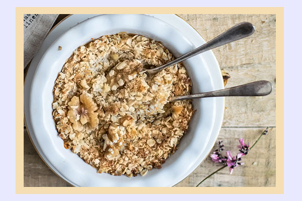 Oatmeal - high-energy breakfast low-calorie foods for weight loss