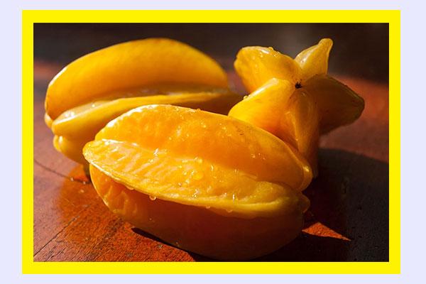 Filling high-volume low-calorie foods - Star fruit (carambola)