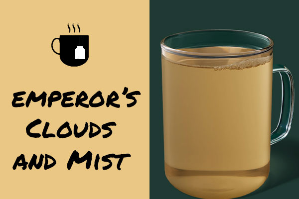 Healthy sugar-free Starbucks drinks: Emperor's Clouds and Mist