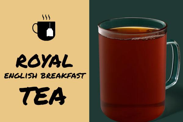 Healthiest Starbucks Drinks: Royal English Breakfast Tea