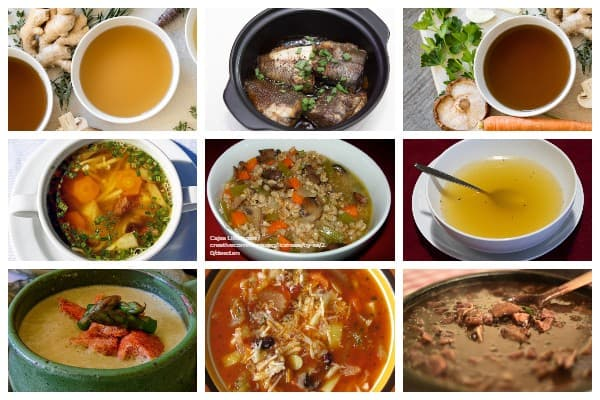 9 high-volume low-calorie soups and broths