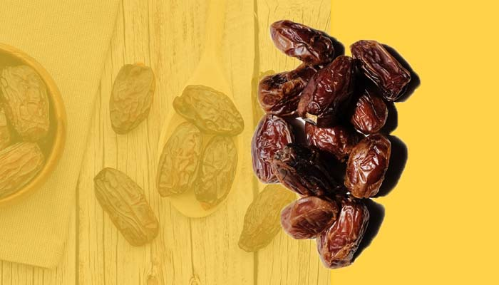 Medjool dates, high-calorie snacks that are rich in carbs.