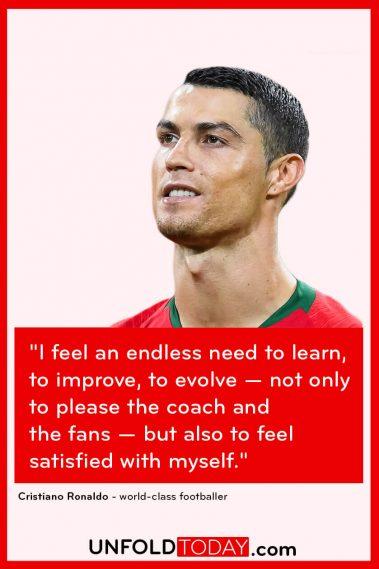 Cristiano Ronaldo Motivational Quote